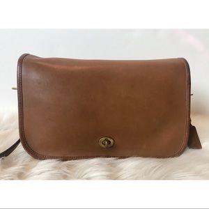 VINTAGE NYC Coach Convertible Clutch Bag